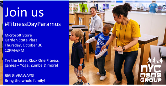 Join us for #FitnessDayParamus