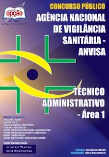 Apostila Agência Nacional de Vigilância Sanitária ANVISA 2016
