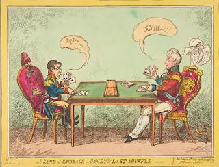 George Cruikshank - 1813 - balão