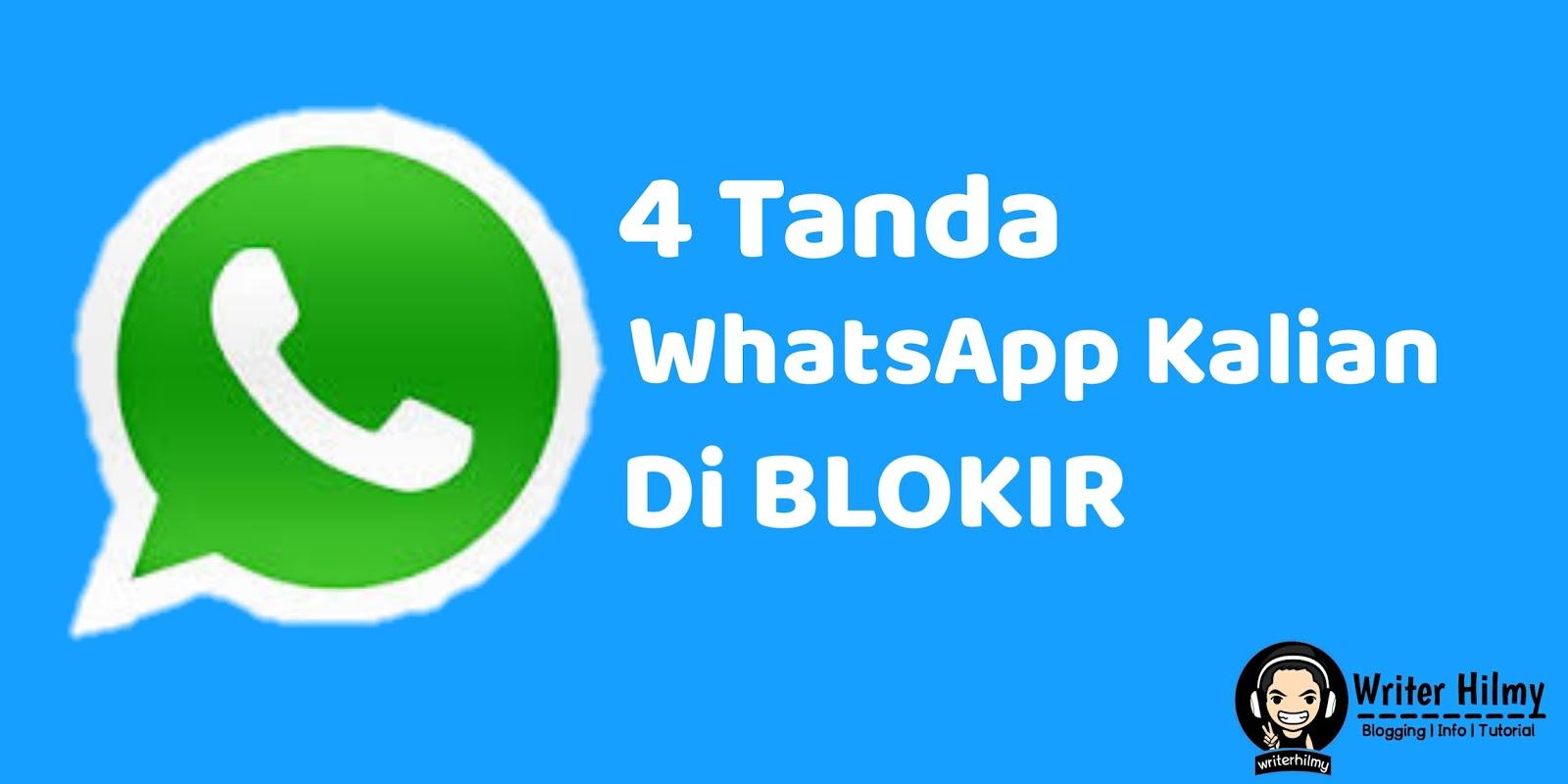 4 Tanda WhatsApp Kamu Di Blokir Orang Lain