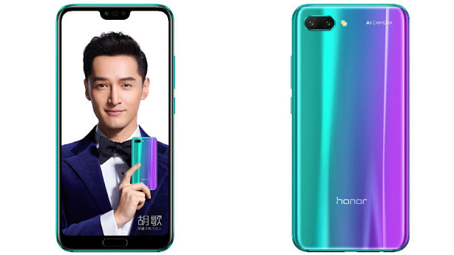 Honor 10 With Kirin 970 SoC and Android Oreo Launched