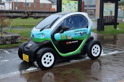 鳥取県智頭町観光協会のレンタカー 超小型モビリティ