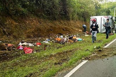 Kecelakaan Maut Tanjakan Emen, 48 Orang Meninggal