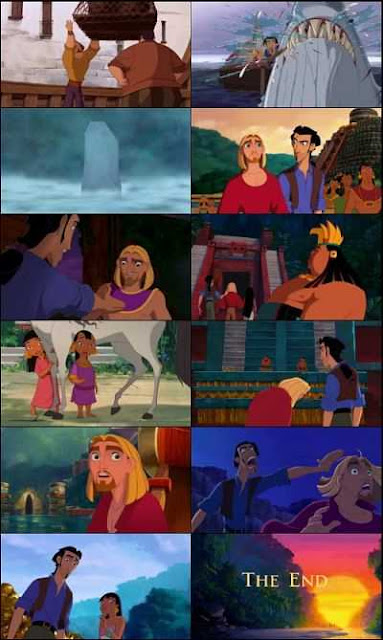 The Road to El Dorado (2000) Dual Audio Hindi - Eng 300mb WEB-DL