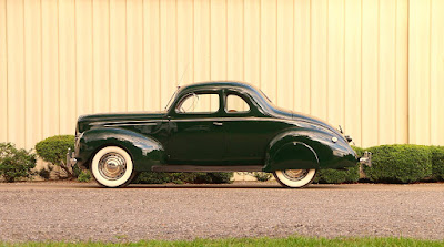 1939 Ford Deluxe Coupe Side Left