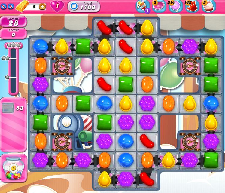 Candy Crush Saga 1706
