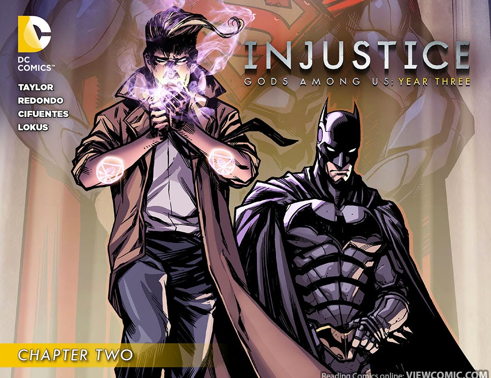 Injustice Gods Among Us Year 3 Three 002 2014 Viewcomic Reading Comics Online For Free 2019