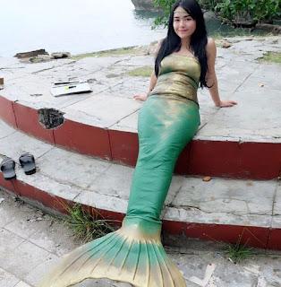 Amanda Manopo pemain Ariel Sinetron Mermaid in Love (MiL) SCTV 6