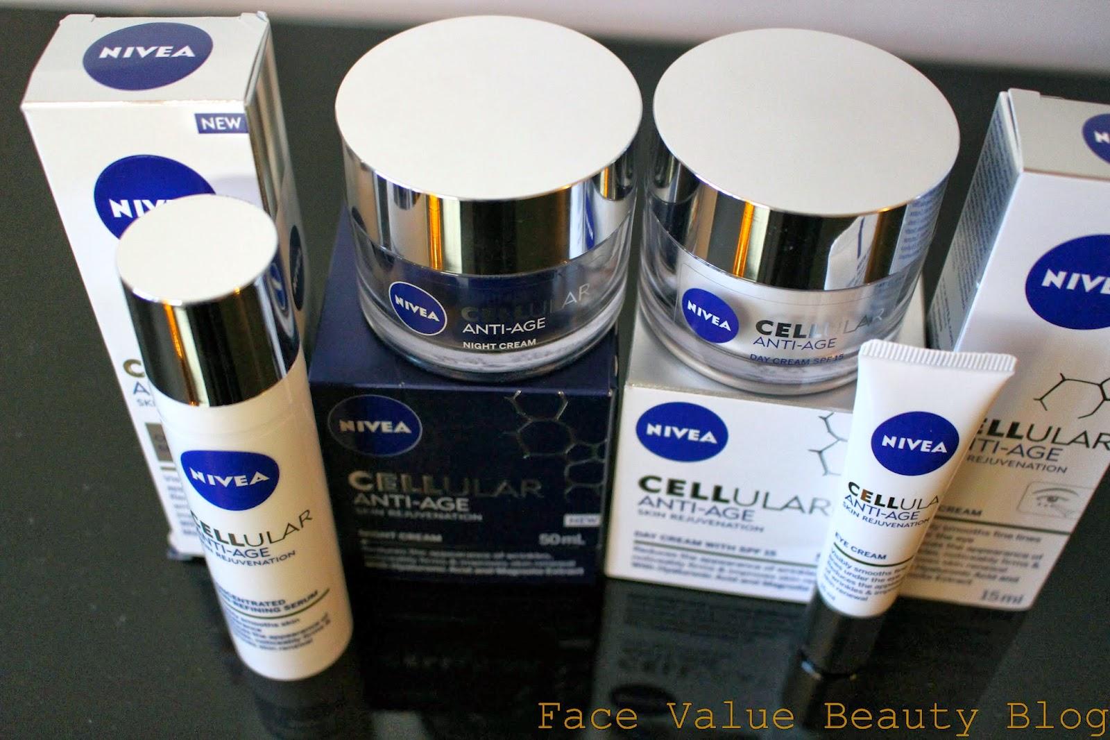 Nivea Cellular Anti Age Day Cream SPF Review