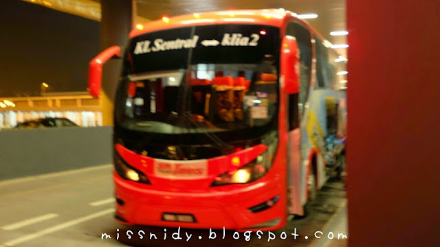 bus express dari kl sentral ke bandara klia 2
