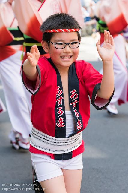 飛鳥連、マロニエ祭り、子供踊りの写真 その3