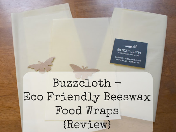 Buzzcloth - Eco Friendly Beeswax Food Wraps {Review}