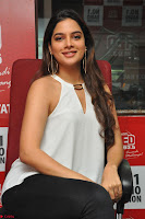 Tanya Hope in a whtie shirt and leggings at Song launch of Movie Patel Sir ~  Exclusive Celebrities Galleries 045.JPG