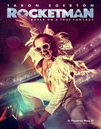 Rocketman (2019) English 480p HC HDRip x264 350MB Movie Download