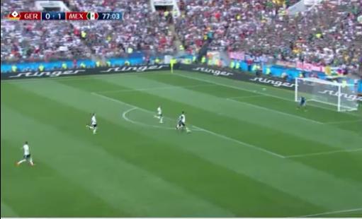 المكسيك تلقن ابطال العالم درسا قاسيا فى كرة القدم , الملخص والاهداف لمباراة ألمانيا والمكسيك germany vs mexico