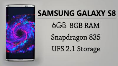 Samsung S8 Specs