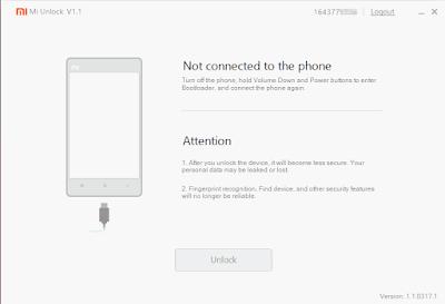 Cara Unlock Bootloader Xiaomi6