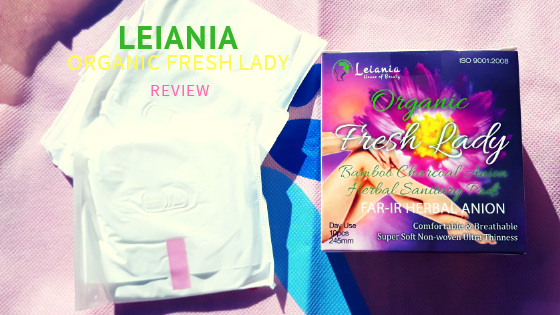 leiania organic fresh lady anion pad review