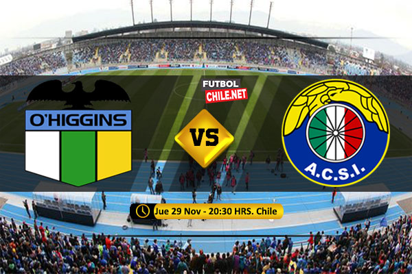 PREVIA: O´Higgins vs Audax Italiano