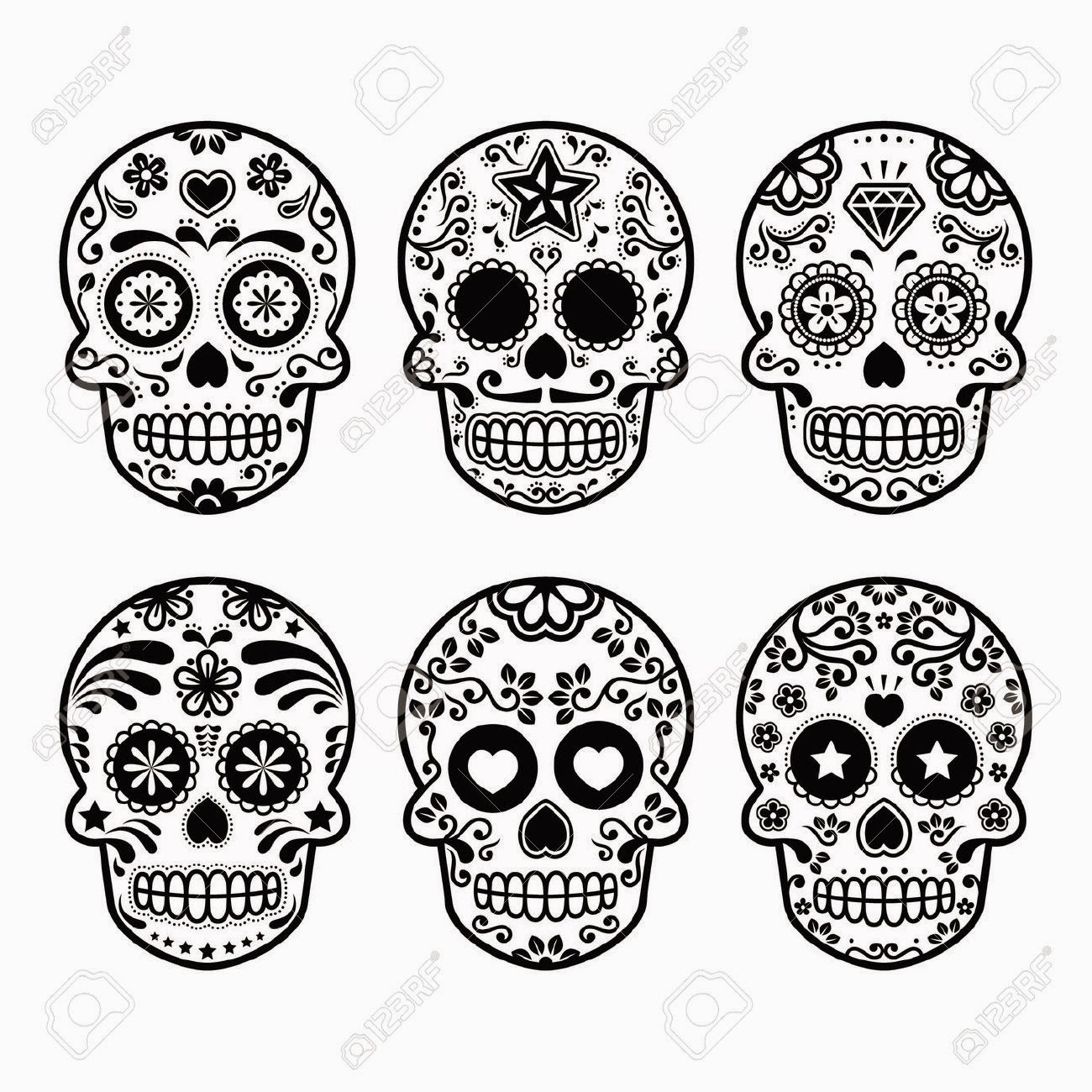 Create Your DIY: Cartapacio con calavera mexicana # ...