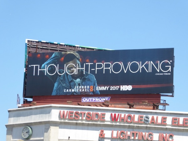 Jerrod Carmichael 8 Thought provoking Emmy billboard
