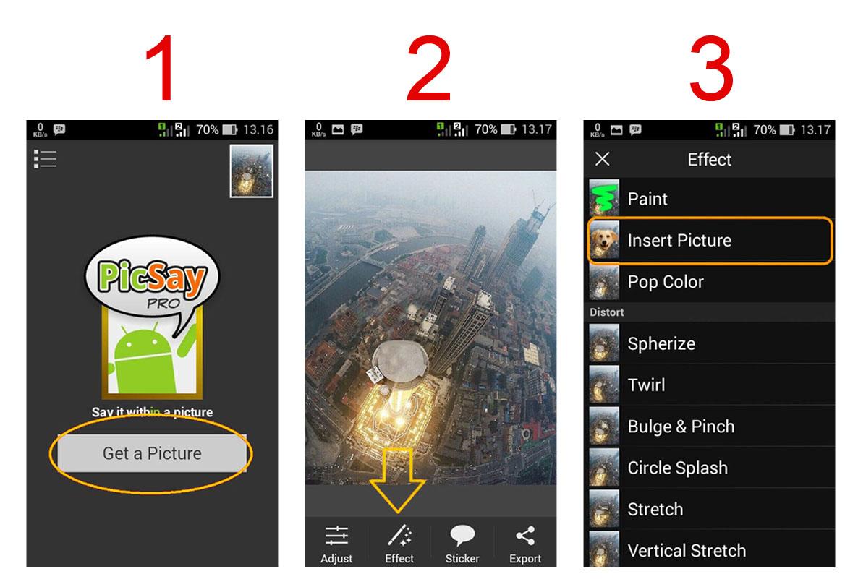 Cara Edit Foto Di Atas Gedung Menggunakan HP Android | Fly ...