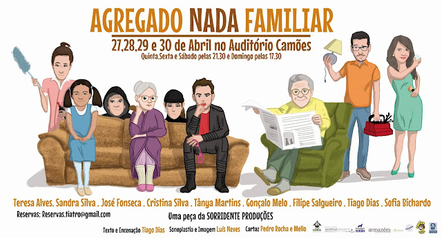 "O fantástico elenco de ""Agregado Nada Familiar"""