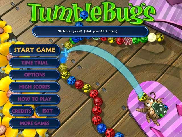 لعبة زوما tumblebugs