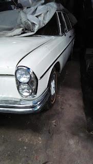 Dijual Mercy Klasik Mercedes 280s,  kebo th 69