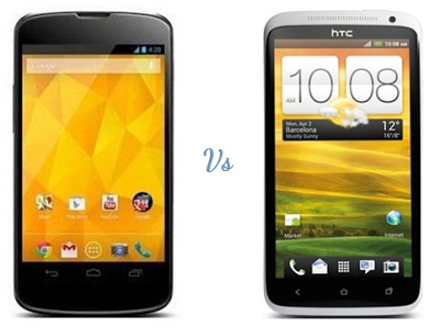 HTC One S or the Google Nexus 4