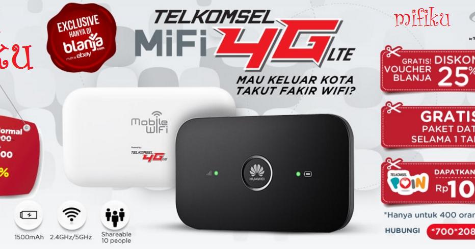 Harga Dan Spesifikasi MiFi 4G Telkomsel