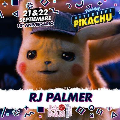 RJ Palmer, el artista que ha dado vida a los Pokémon de Detective Pikachu.