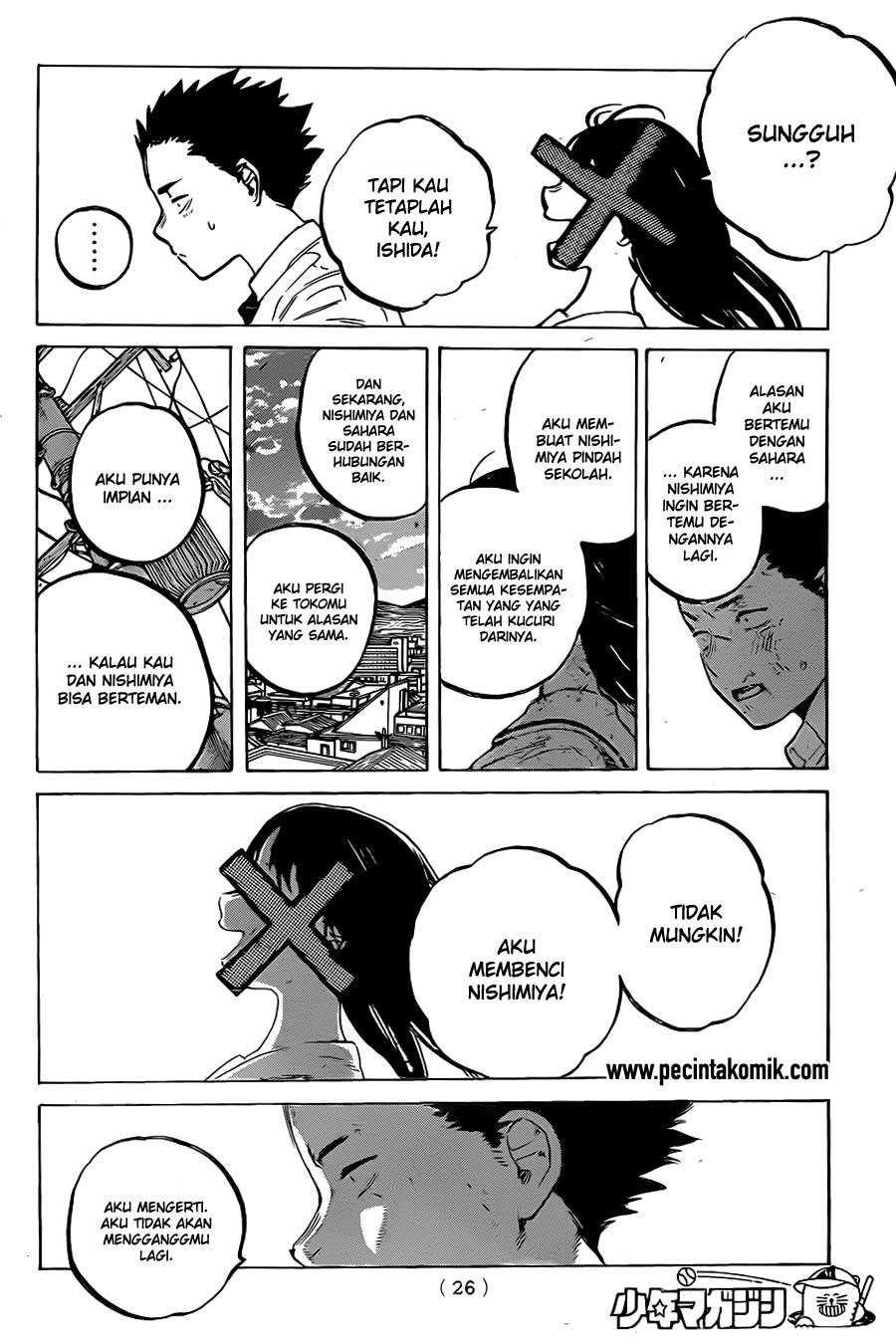 Koe no Katachi Chapter 21-18