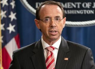 اتهام 12 مسؤولاً أمنياً روسياً وزارة العدل الأمريكية بقرصة الإنتخابات الأمريكية
