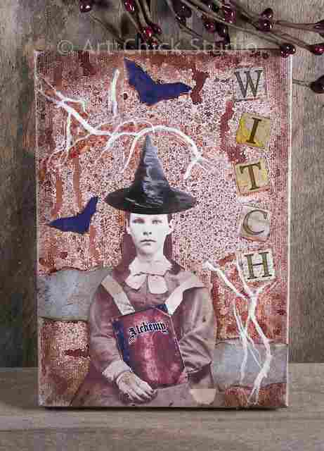 Witchy Woman Canvas Art
