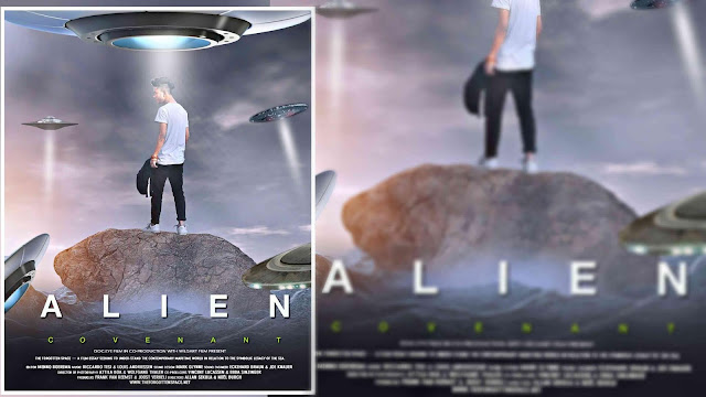 Picsart Tutorial Alien Boy On Earth Action Movie Poster