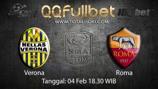 PREDIKSIBOLA - PREDIKSI TARUHAN BOLA VERONA VS ROMA 04 FEBRUARI 2018 ( ITALIAN SERIE A )