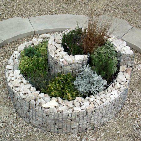 ... Lecomte Julien : Créer un massif jardin surélevé et rond en gabion
