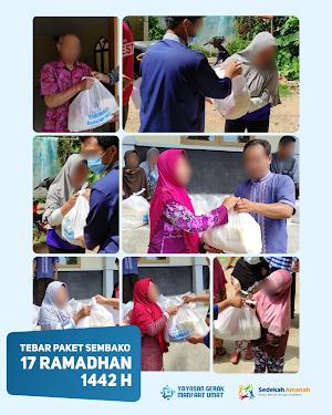 Penyaluran Sembako Ramadhan 1442 H Tahap 5