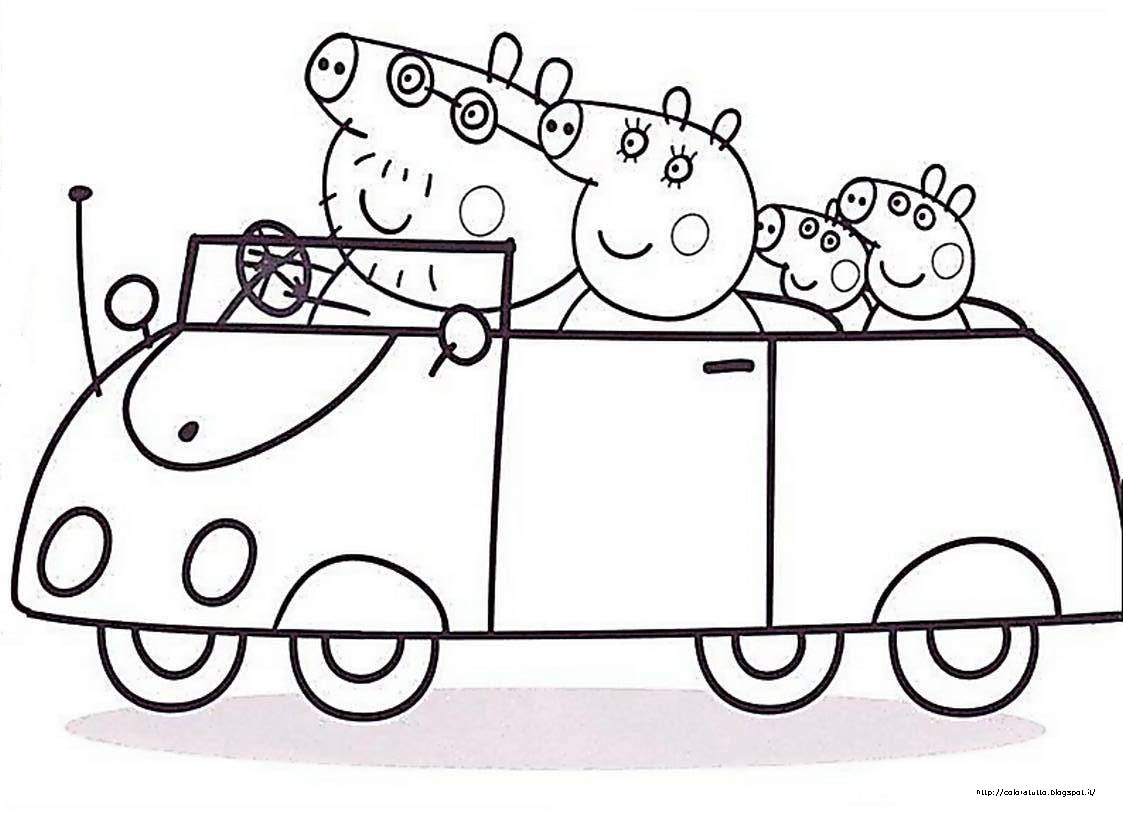 Peppa Pig Halloween Coloring Page Free Coloring Pages Of Peppa Pig