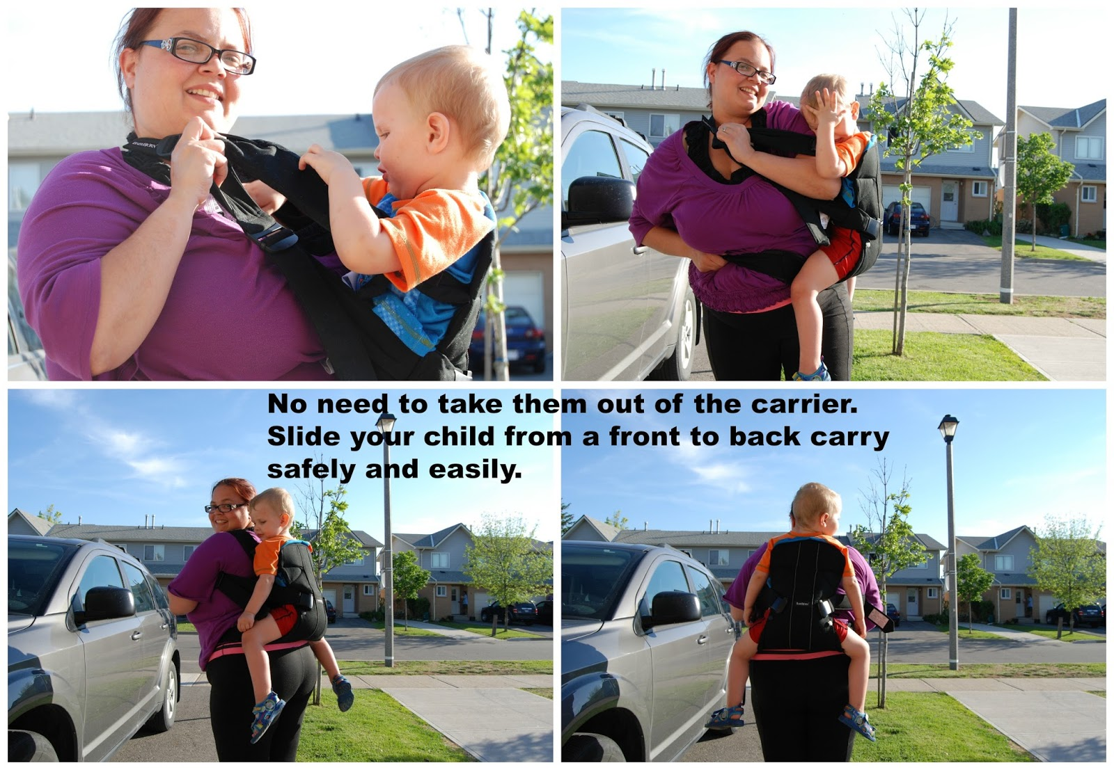 Getting Carried Away With The Baby Carrier One From Babybjörn