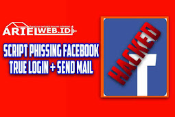 Script Phising Fb True Login + Send Mail