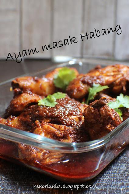 Mori's Kitchen: Nasi Hujan Panas dan Ayam Masak Habang