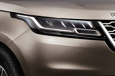 New 2018 Range Rover Velar SUV Headlight