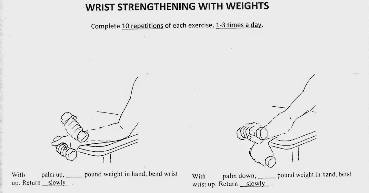 HB Hands: Wrist Strengthening with Weights