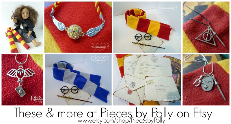 Harry Potter Craft Ideas For Kids Part - 32: Https://www.etsy.com/shop/PiecesByPolly?section_idu003d