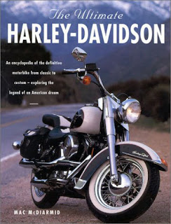 Cover of book about Harley-Davidson.