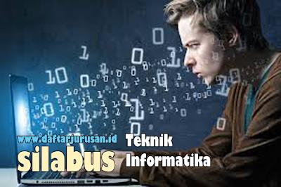Daftar Silabus / Mata Kuliah Yang Dipelajari Pada Teknik Informatika