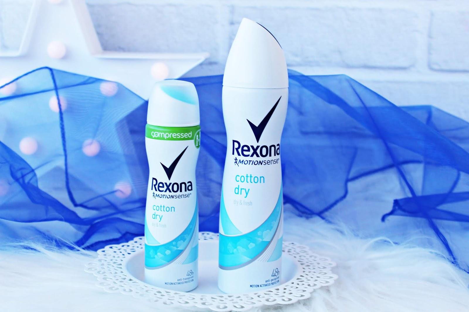 Rexona Compressed - nowe antyperspiranty dla kobiet i mężczyzn