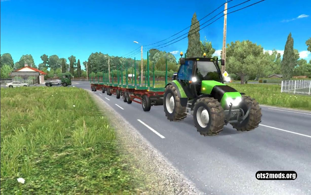 Ai Traffic Tractor with trailer and sounds – v 1.3